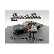 American Diorama 24002 Musclemen Bigblock Bubba Figure for 1-24 Diecast Model Cars