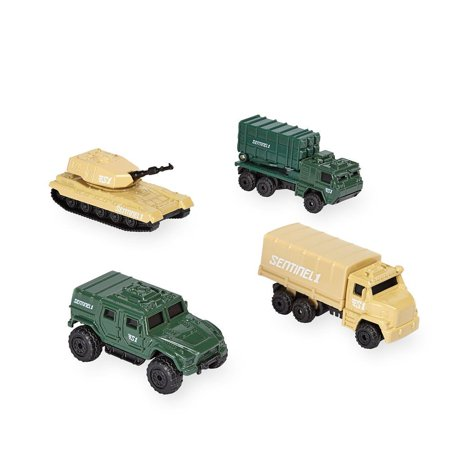 True Heroes Sentinel 1 Die Cast Military Vehicles - 4 Pack..., By Toys R Us Ship from US (Toys R Us Halloween Event)