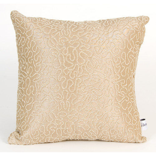Glenna Jean Central Park Coral Throw Pillow