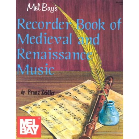 Recorder Book of Medieval and Renaissance Music - Renaissance Medieval Dresses