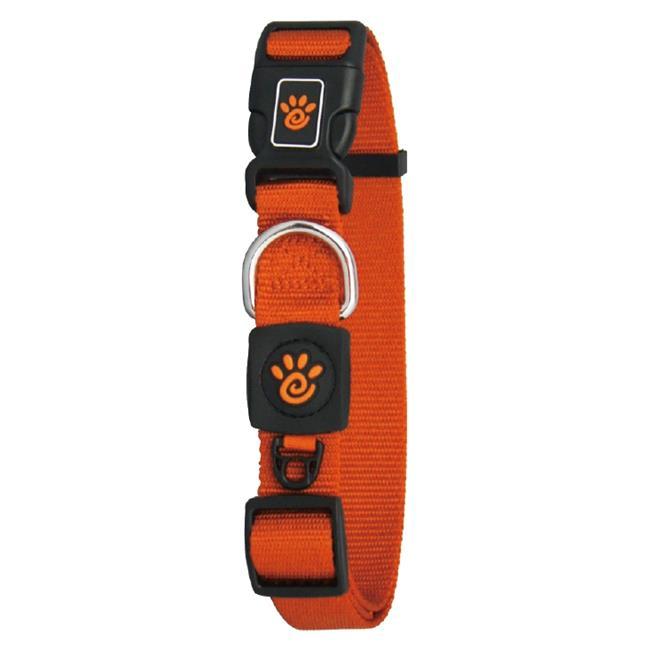 Doco DCSN002-01S Tri-Glide Signature Nylon Dog Collar, Black - Small