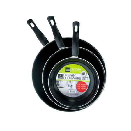 Bulk Buys OC644-3 Stainless Steel Non-Stick Frying Pan Set - image 1 of 1