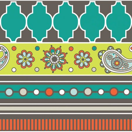 Modern Day Moroccan Fiesta V Poster Print by ND Art and Design - Fiesta Design