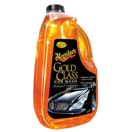 Meguiar's G7164 Gold Class Car Wash Shampoo & Conditioner - 64