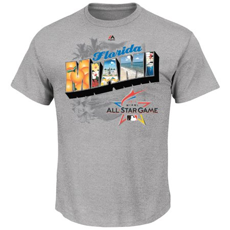 majestic create your own bedroom games. Majestic Big  Tall 2017 MLB All Star Game Postcard T Shirt Gray Walmart com
