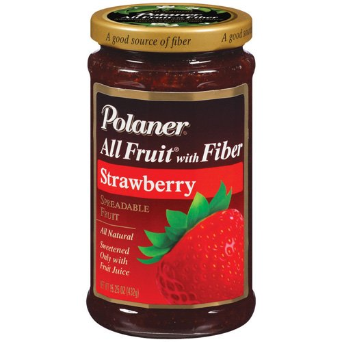 Polaner All Fruit Strawberry Fruit Spread, 15.25 oz