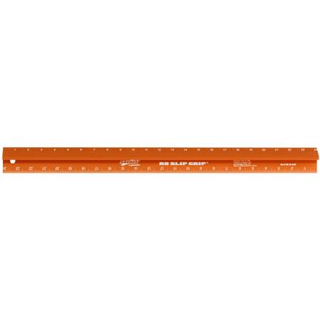 Swanson SAVAGE SVE240 24-Inch No Slip Straight Edge with Thumb Saver