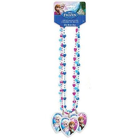 Disney Frozen Bead Necklace Party Favors, 3ct - Frozen Party Theme Ideas