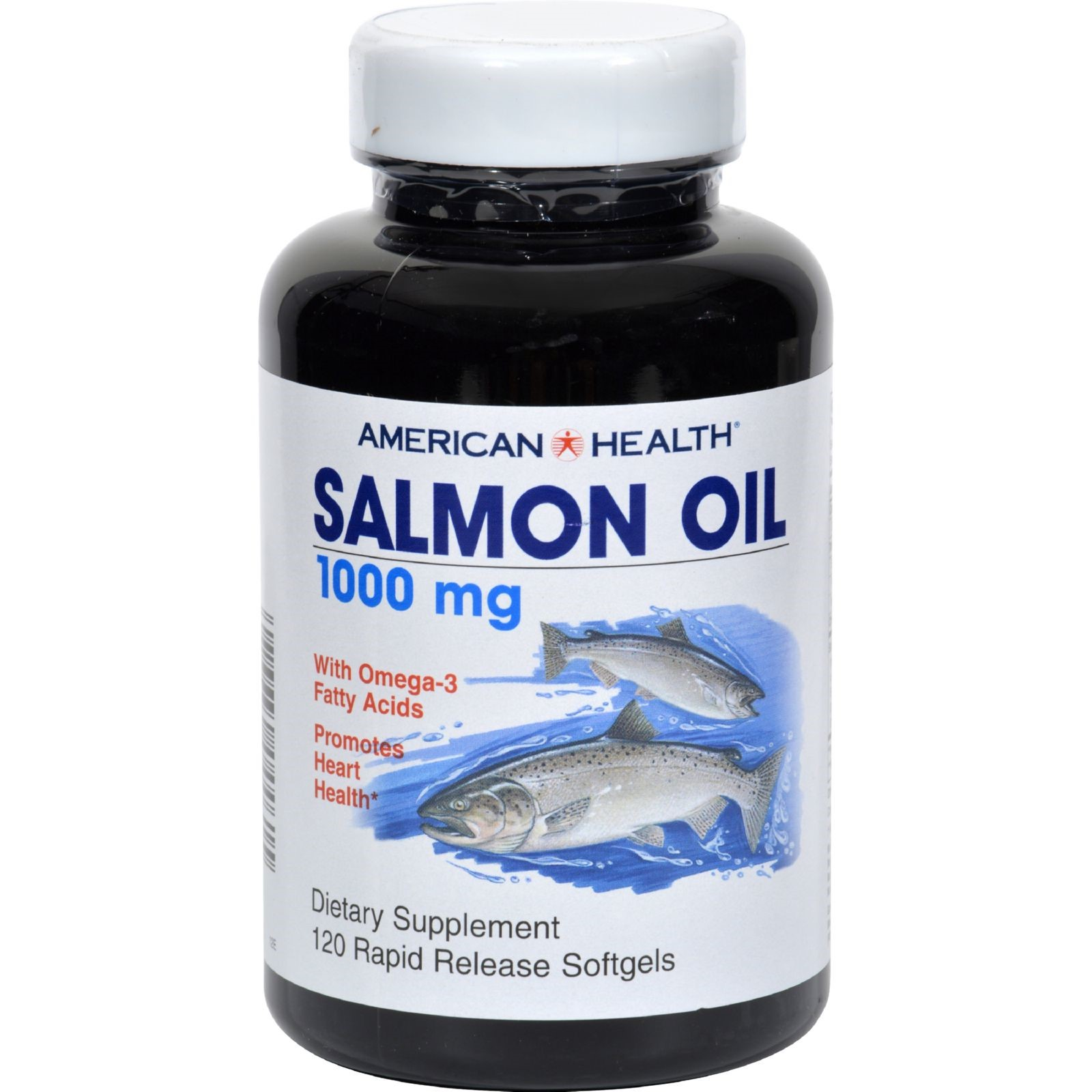 American health salmon oil 1000mg, 120 ct