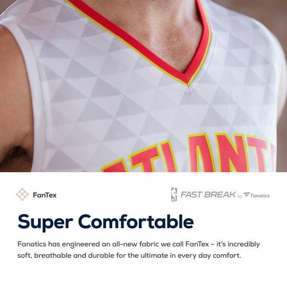 size 40 355ba 69c48 Dennis Schroder Atlanta Hawks Fanatics Branded Youth Fast Break Replica  Jersey Black - Icon Edition