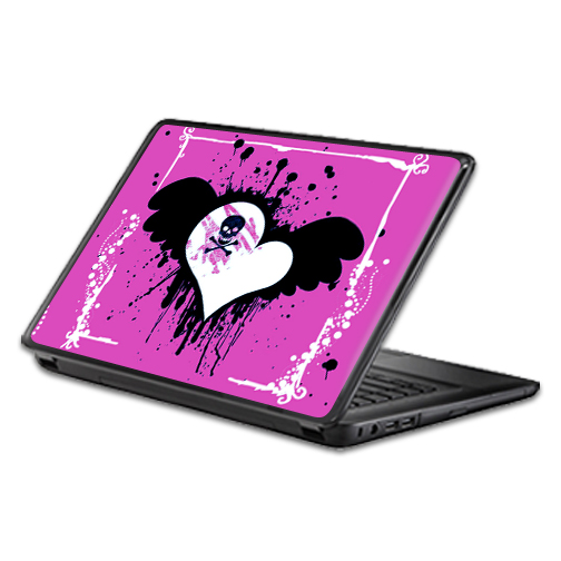 MightySkins Protective Vinyl Skin Decal Wrap for Universal Laptop Apple Asus Acer Dell Lenovo Sony Toshiba 11 13 15 17 sticker cover Poison Heart