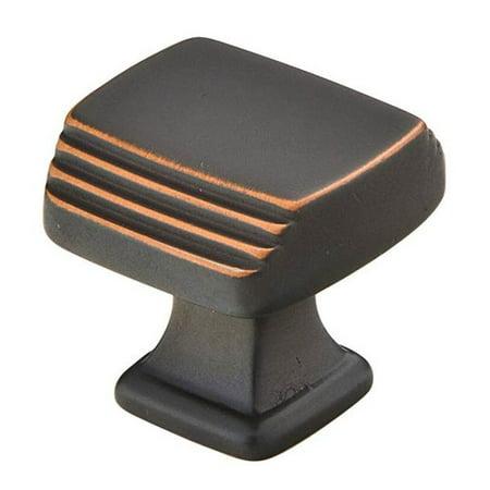 - Emtek Art Deco Square Novelty Knob
