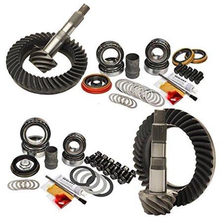 Nitro Gear & Axle NGAGPTUNDRA5.7-4.88 Front & Rear Gear Package for 2007 & Newer Toyota Tundra 5.7L 4WD 4.88