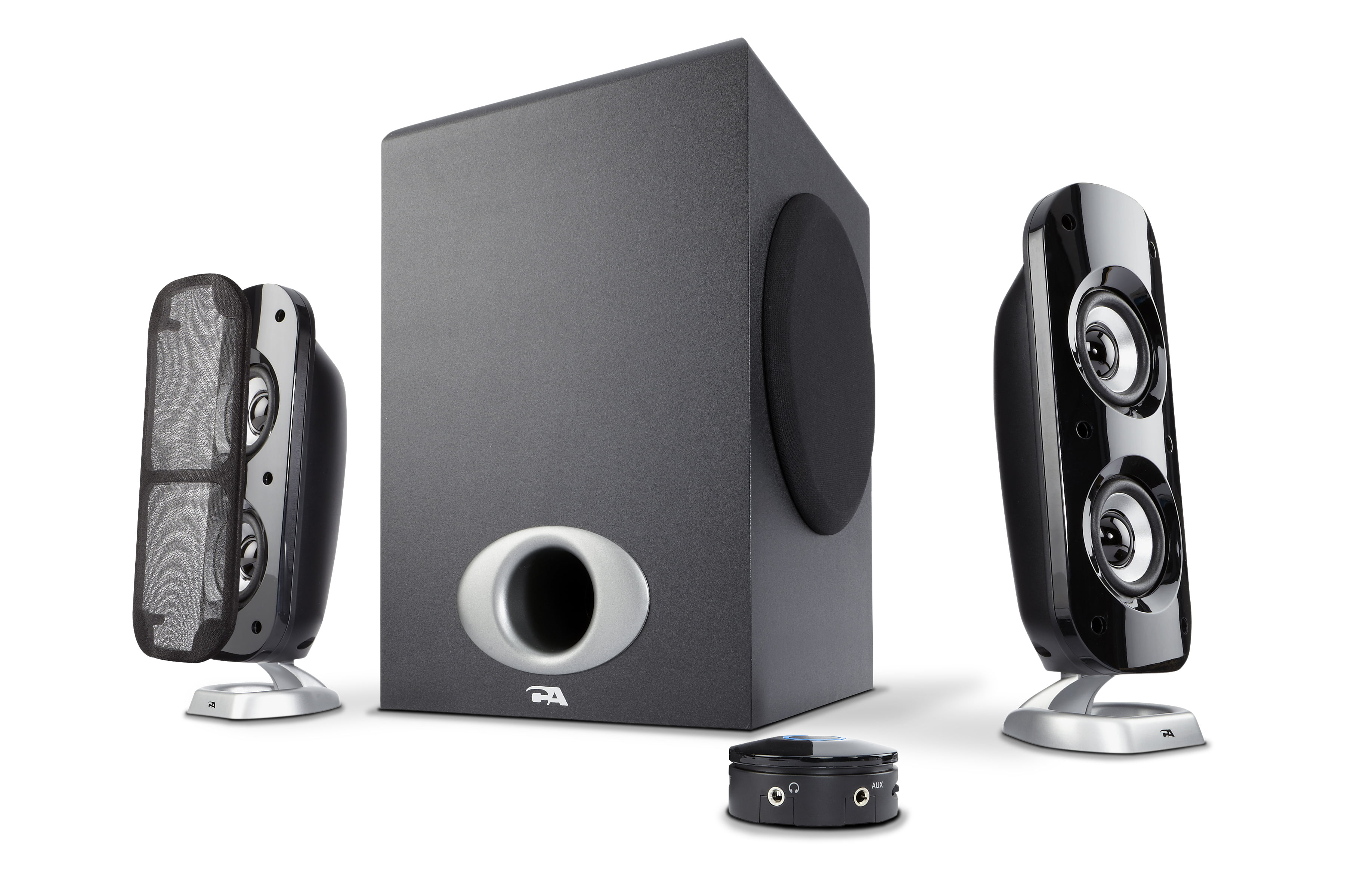 Cyber Acoustics 76W Computer Speakers with Subwoofer, a Powerful 2.1 Multimedia System for Gaming, Music, and... by Cyber Acoustics