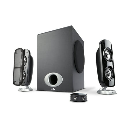 Cyber Acoustics 76W Computer Speakers with Subwoofer, a Powerful 2.1 Multimedia System for Gaming, Music, and (Best Pc Gaming Speakers 2019)