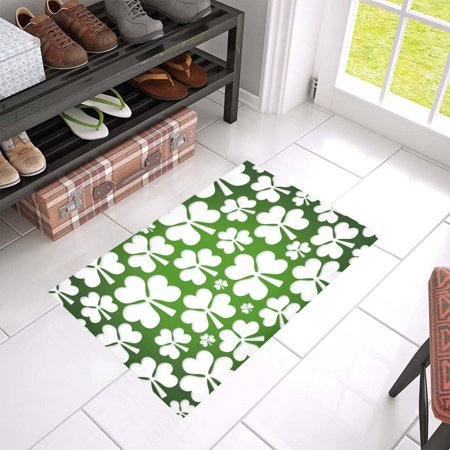 MKHERT Shamrock Doormat Rug Home Decor Floor Mat Bath Mat 23.6x15.7 - Shamrock Door