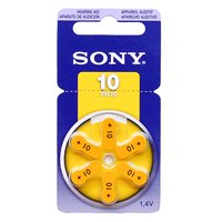 SONY Hearing Aid Batteries Size 10, 1.45 Volts (30 Batteries)