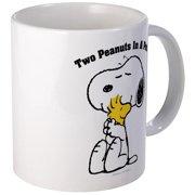 CafePress Snoopy And Woodstock Hug Mug Unique Coffee Mug, Coffee Cup CafePress by
