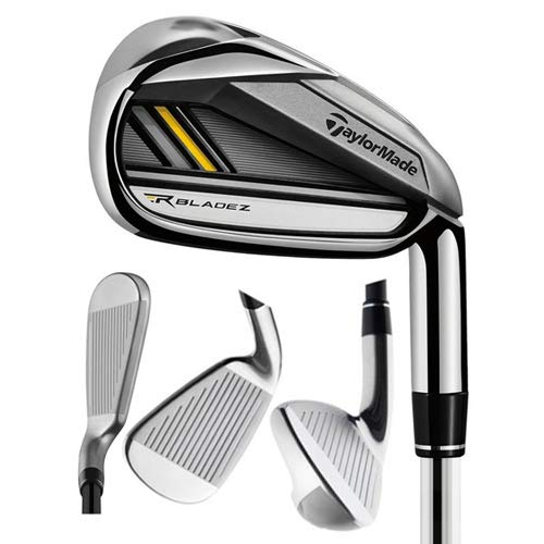 Taylormade Rocketbladez 2.0 Irons 4-PW Steel Yellow Regular Flex, Right Handed