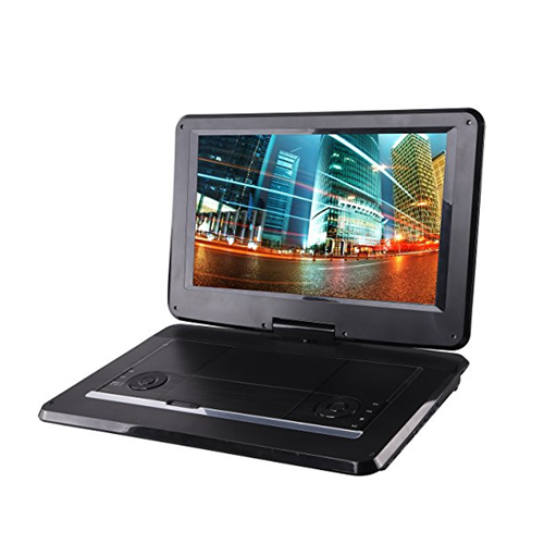 Sylvania SDVD1566 15.6-Inch Swivel Screen Portable DVD Player with USB & SD Card Slot - Manufacturer Refurbished