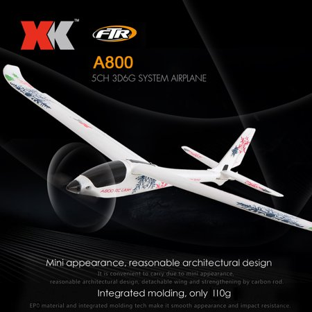 Rc Airplane Wood - XK A800 RC Airplane 780mm Wingspan 5CH 3D 6G Mode EPO Aircraft Fixed Wing Easy to Fly RTF