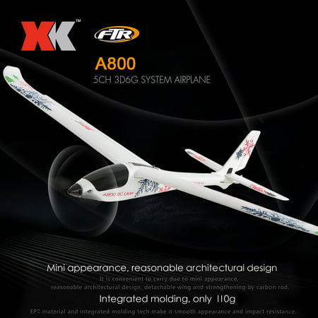 XK A800 RC Airplane 780mm Wingspan 5CH 3D 6G Mode EPO Aircraft Fixed Wing Easy to Fly RTF