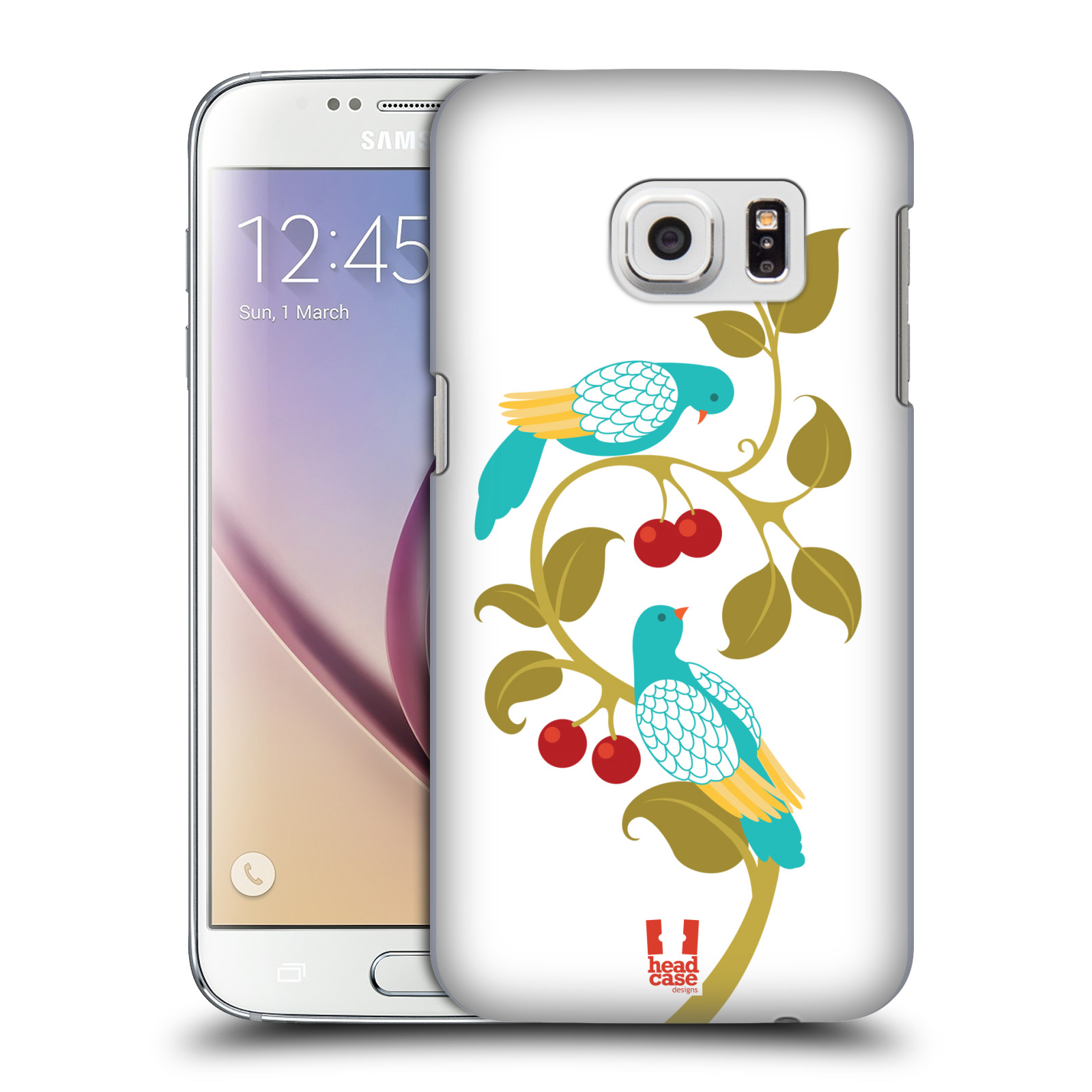 HEAD CASE DESIGNS 12 DAYS OF CHRISTMAS HARD BACK CASE FOR SAMSUNG PHONES 1