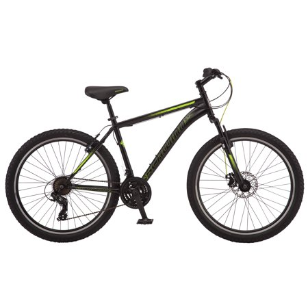 Schwinn Sidewinder mountain bike, 26 inch wheels, 21 speeds, mens frame, black