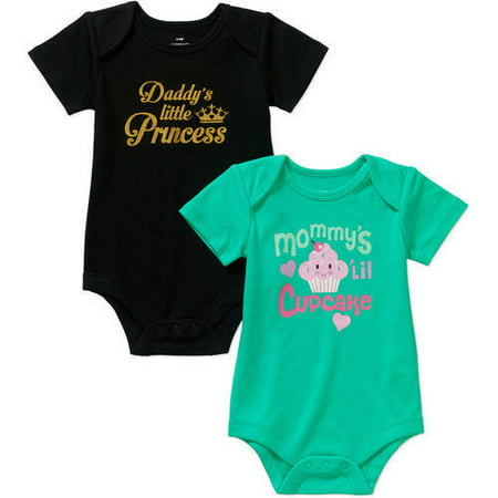 d24c4b8a1 UPC 724536171835 - Newborn Baby Girls  Attitude Bodysuits