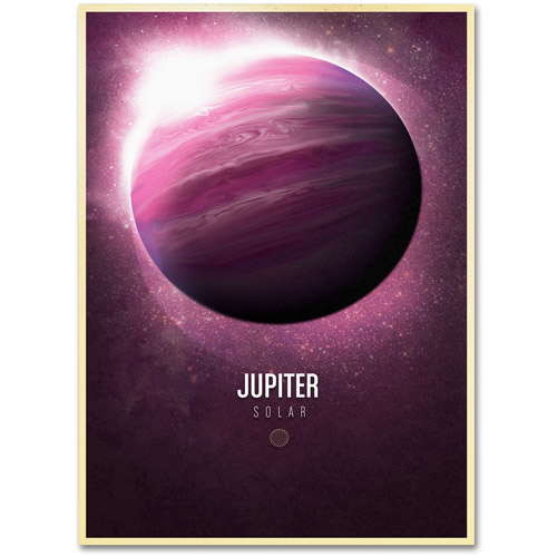 "Trademark Fine Art ""Jupiter"" Canvas Art by Christian Jackson"