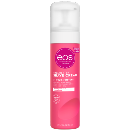 eos Shea Better Shave Cream - Pomegranate Raspberry | 7 oz