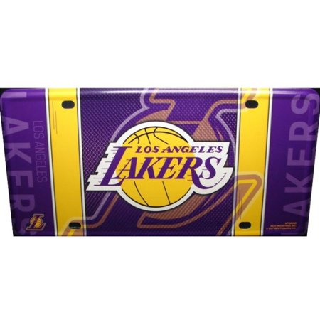 Los Angeles Lakers Metal License Plate - image 1 of 1