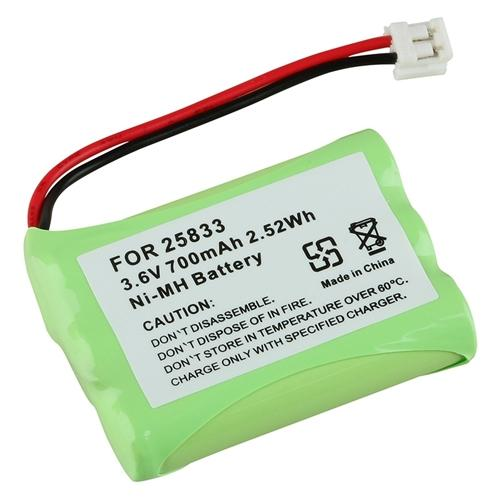 Insten 1-Pack Cordless Phone Compatible Ni-MH Battery for GE 25833 GE25833