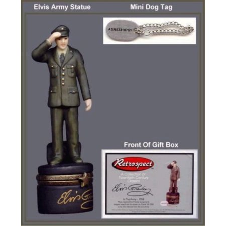 Elvis in the Army PHB Porcelain Hinged (Phb Porcelain)