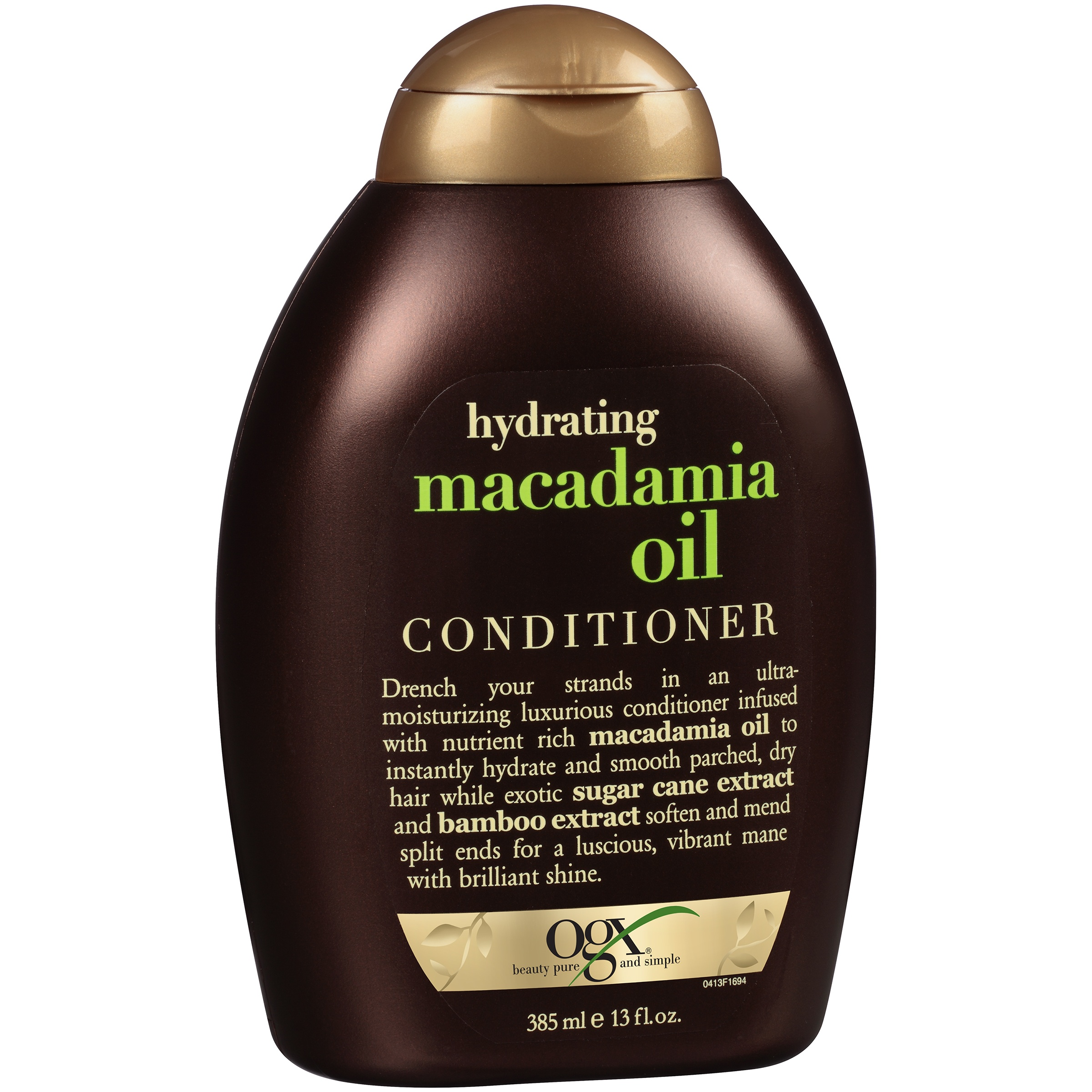 OGX® Hydrating Macadamia Oil Conditioner 13 fl. oz. Squeeze Bottle