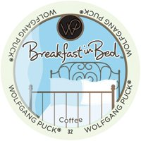 Wolfgang Puck Breakfast In Bed, RealCup portion pack for Keurig K-Cup Brewers, 24 Count