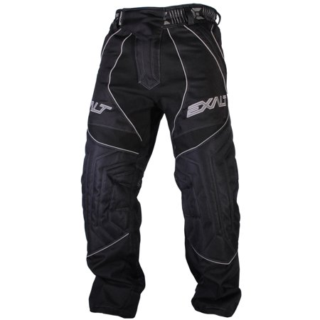 Exalt Paintball T4 Pants - Black (Paintball Professional Pants)