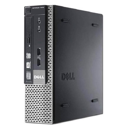 Refurbished Dell OptiPlex 9020 Ultra Small Form Factor Intel Core i5-4570S 3.2GHz up to 3.6GHz 8GB 500GB Win 10 Pro