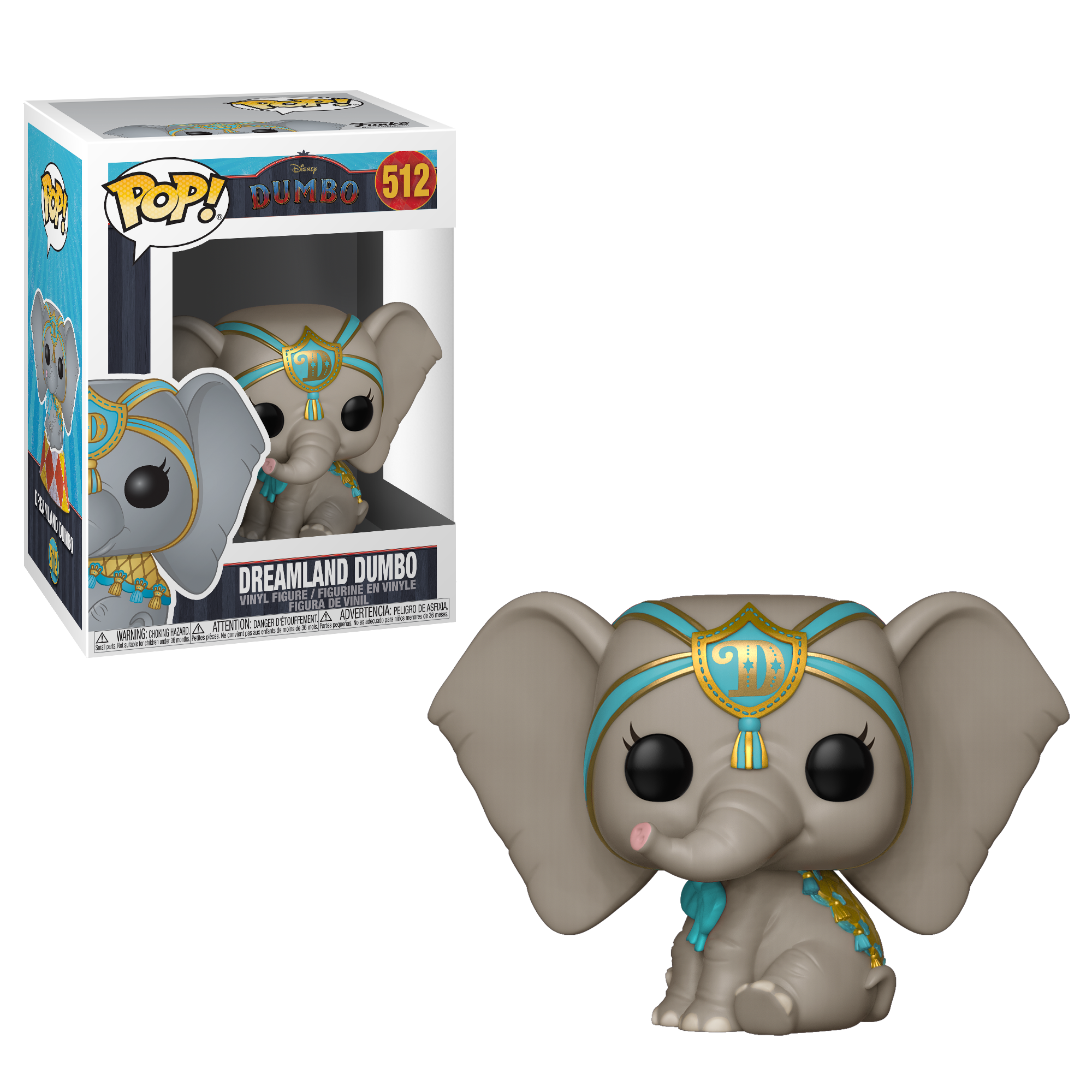 Funko POP! Disney: Dumbo (Live) - Dreamland Dumbo