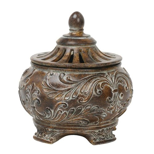 Sterling Industries 87-1354 Fortress Lidded Decorative Bowl