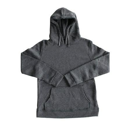 Mens Hoodie Sweat Shirt Casual Jacket Coat Top M L Xl Xxl Sport Hoody Neckline Polyester Cotton  Deep Gray  L