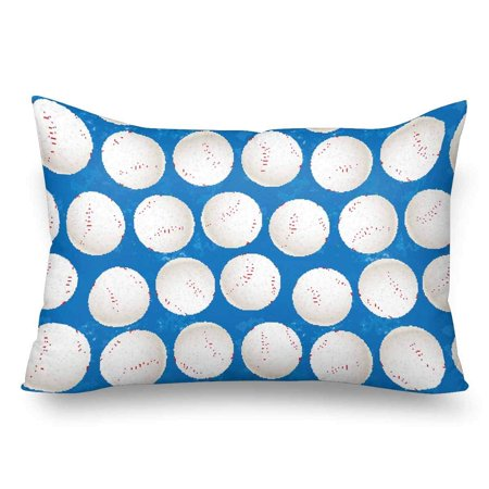 GCKG Baseball Balls Sport seamless Pattern Pillow Cases Pillowcase 20x30 inches - image 4 of 4