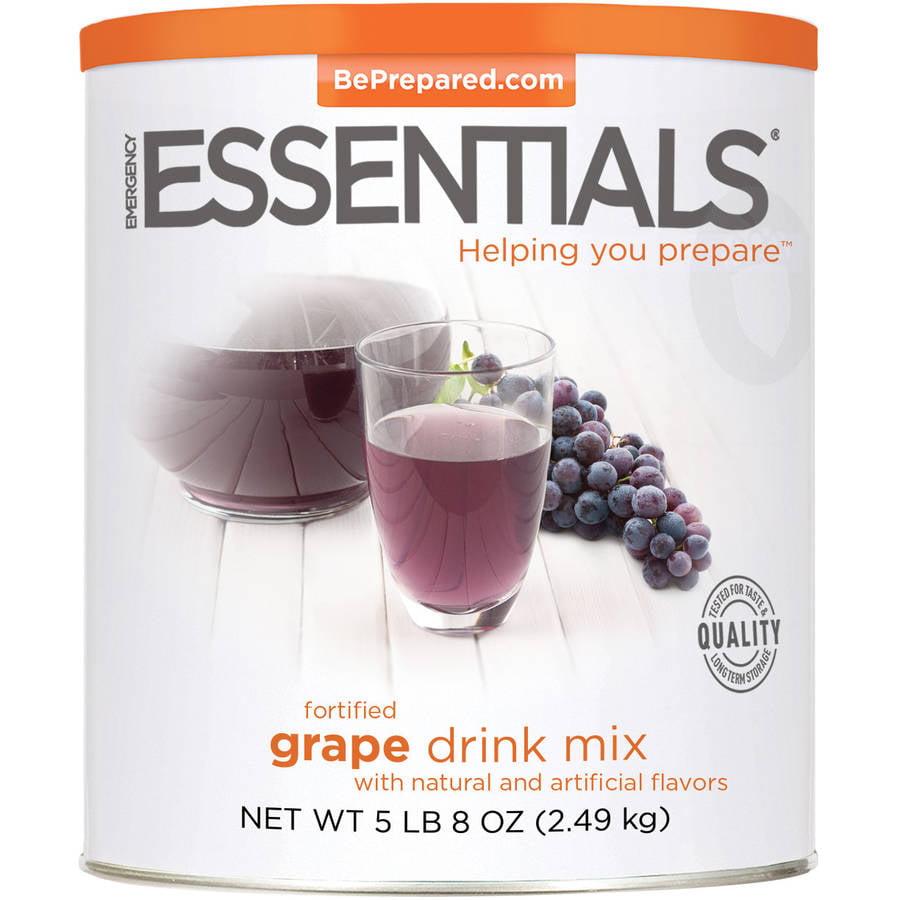 Emergency Essentials Food Fortified Grape Drink Mix, 88 oz by Emergency Essentials