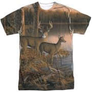 Wild Wings - Tranquil Evening (Front/Back Print) - Short Sleeve Shirt - Small