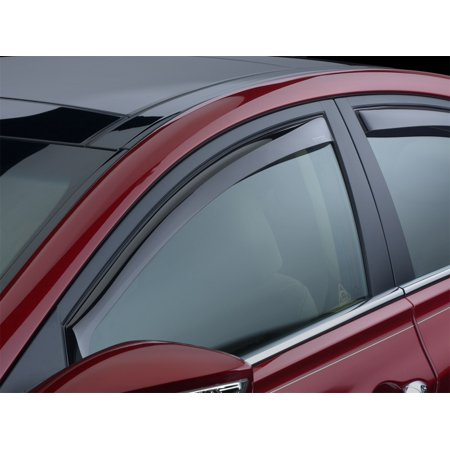 Honda Front Window - WeatherTech 12+ Honda CR-V Front Side Window Deflectors - Dark Smoke