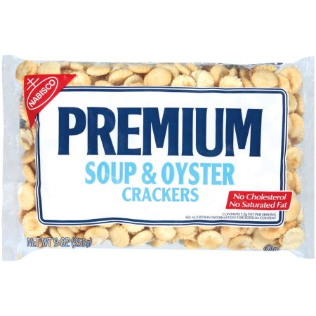 (2 Pack) Nabisco Premium Soup & Oyster Crackers, 9 Oz