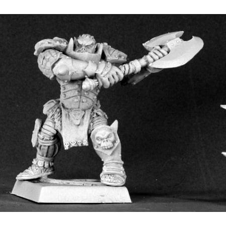Reaper Miniatures Varaug, Orc Warlord (Alternate Sculpt) #14536 Reven Unpainted