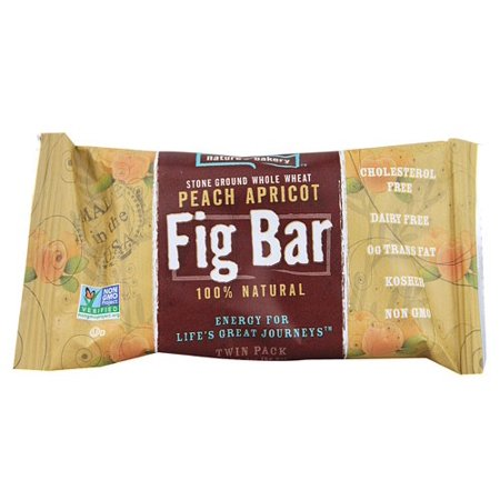 Natures Bakery Fig Bar Whole Wheat Peach Apricot   12 Ct