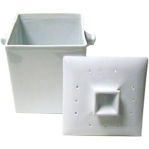 compost pail with filter ceramic