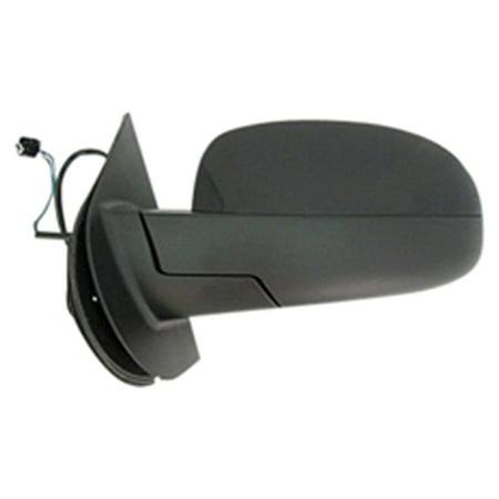 2011-2013 Chevrolet Silverado 2500 HD  Driver Side Left Heat Non-Signal Non-Puddle Lamp Power Door Mirror 20843177